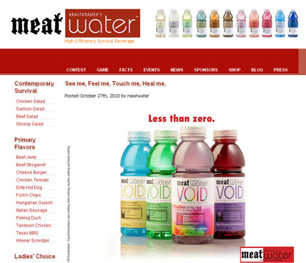 Meat water